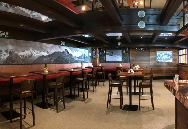 Im Gipfelrestaurant Stubner